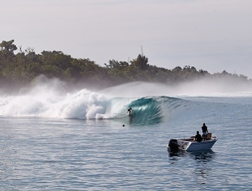 Surfing Indonesia