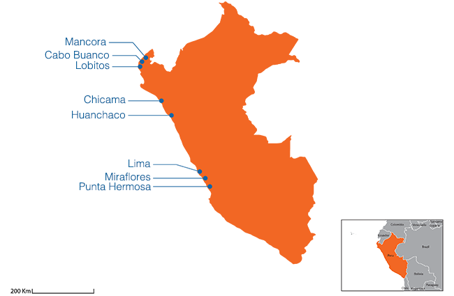 Peru - Country map image