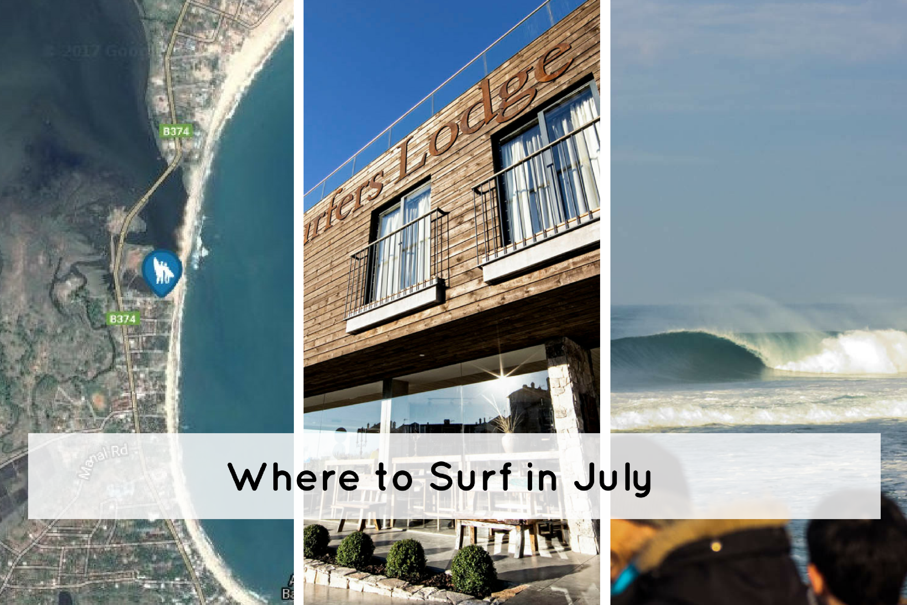 Where to Surf in July