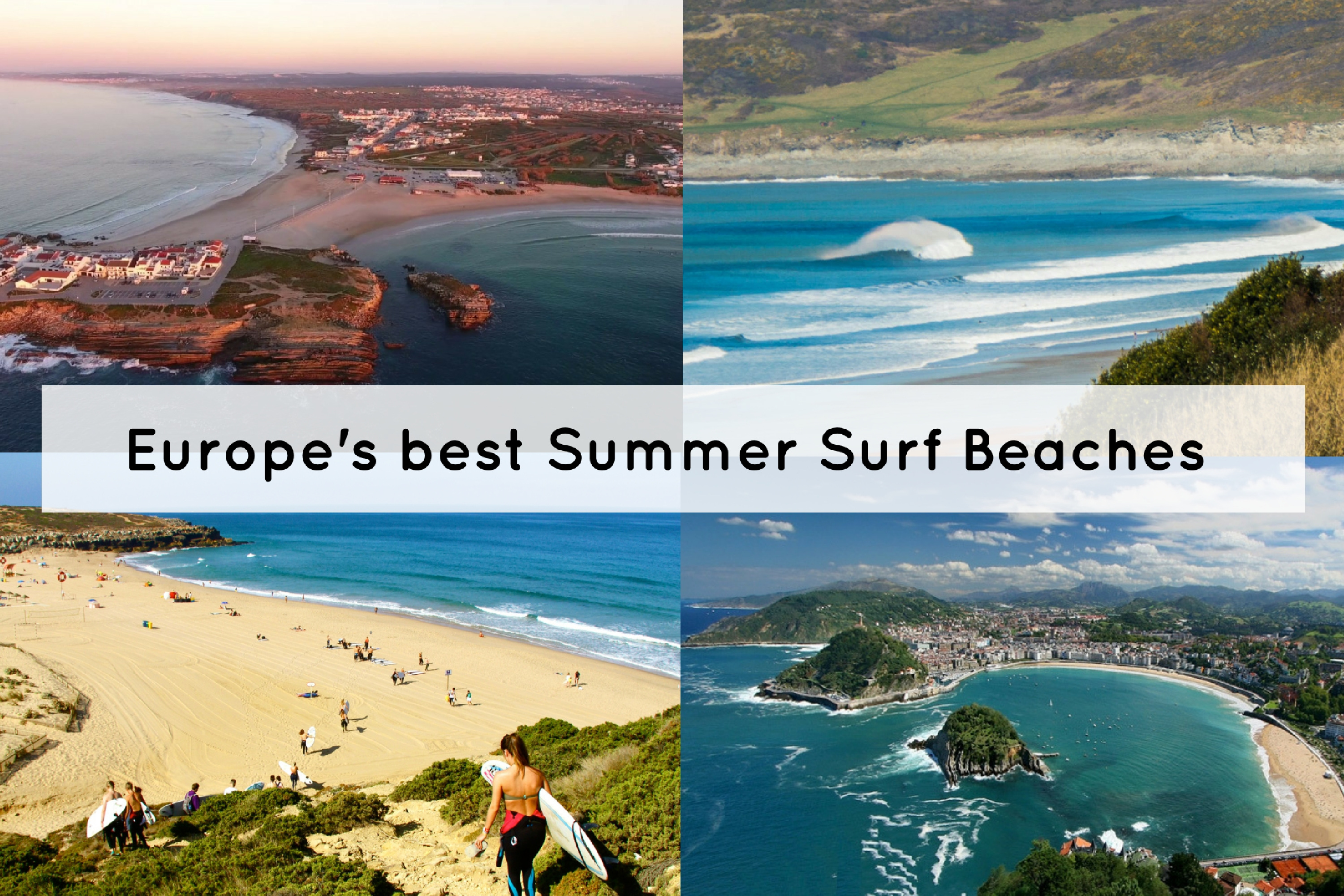 Top 5 Summer Surf Beaches in Europe
