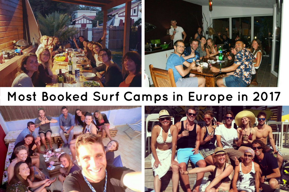 Top 10 Surf Camps in Europe Booked in 2017