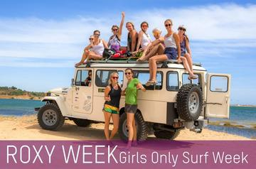 Roxy Girl only Surf Week in Portugal