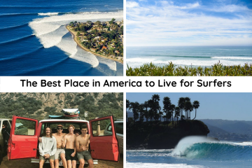 Best Places in America to Live for Surfers
