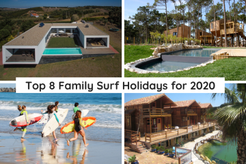 Top 8 Family surfing holiday options in Portugal 2020