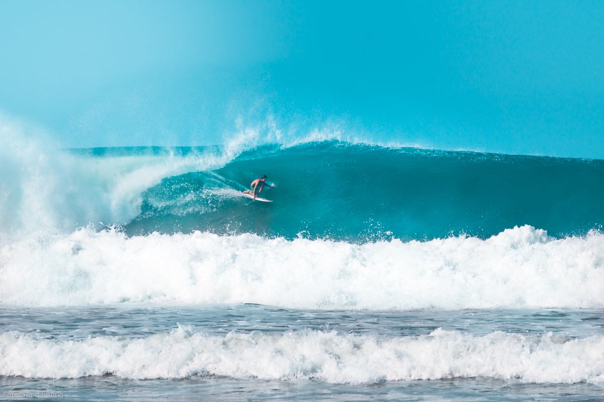 Surf spots between Playa Hermosa and Mal Pais