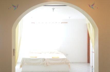 Semi-seperated bedroom