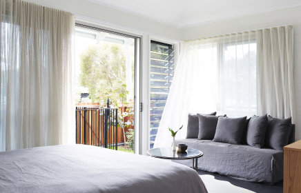 Comfortable, sophisticated and airy rooms.
